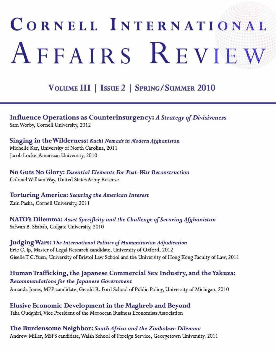 CIAR 3(2) cover